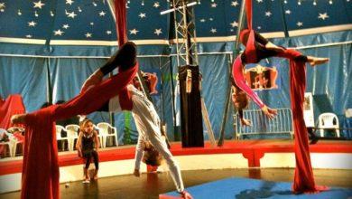 Cours de cirque dans les landes