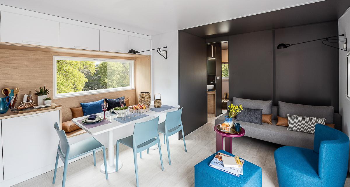 Salon du cottage de luxe en location