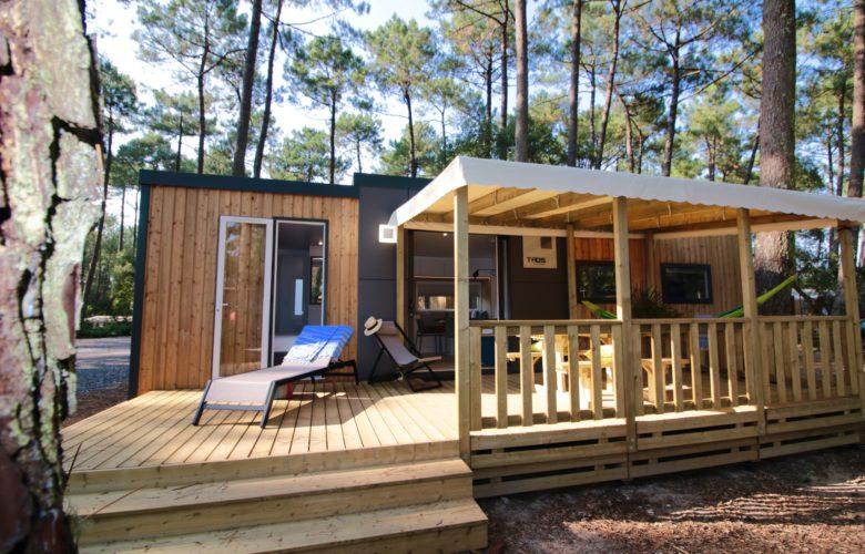 Cottage de luxe en pleine nature dans les landes