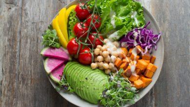 Salade de légumes healthy
