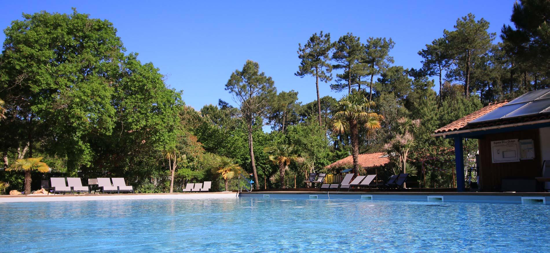 Piscine chauffée du Green Resort